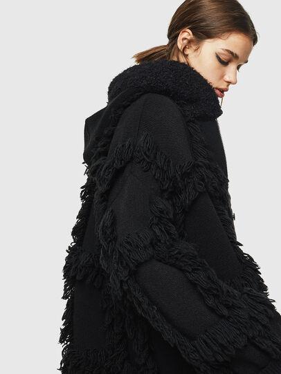 Diesel - M-LYNE, Black - Winter Jackets - Image 2