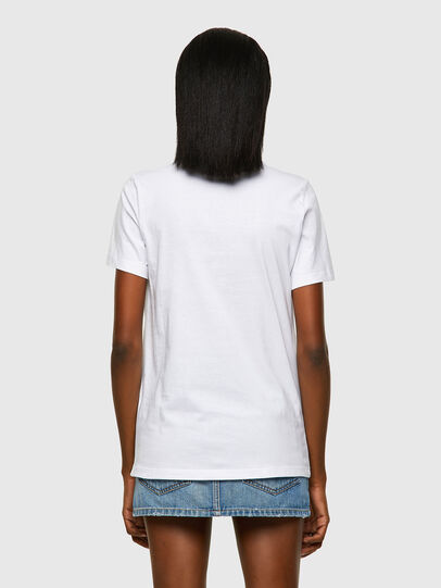 Diesel - T-SILY-ECOLOGO, White - T-Shirts - Image 2