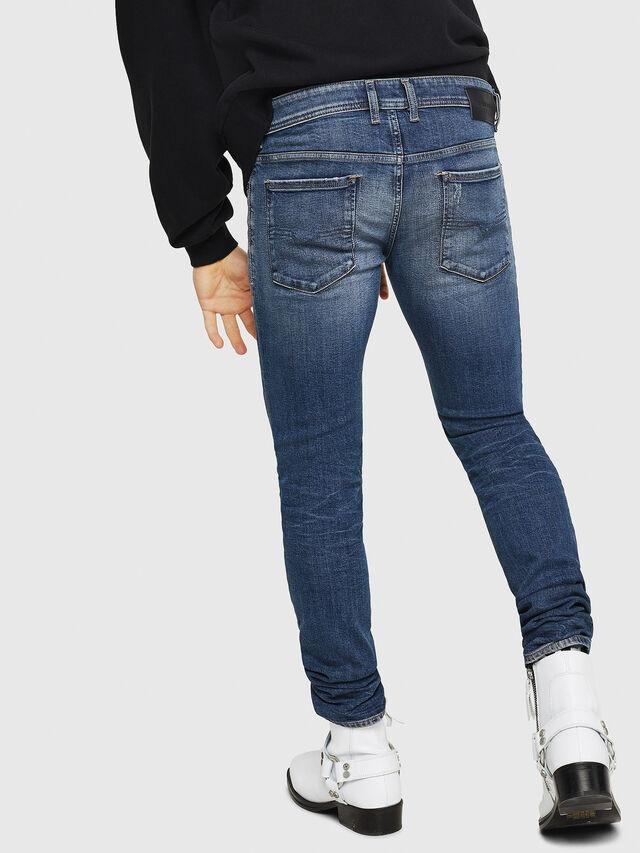 Diesel - Sleenker 069FI, Medium blue - Jeans - Image 2