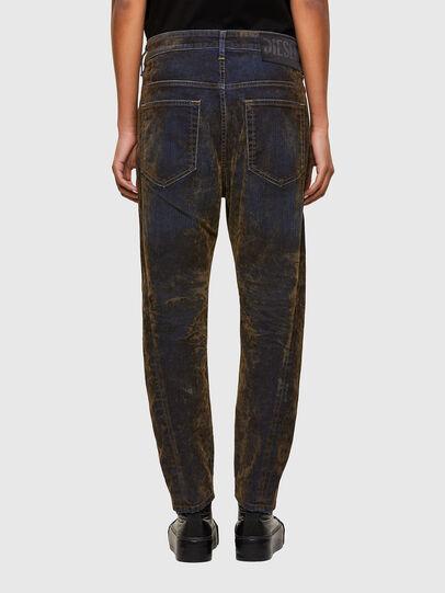 Diesel - Fayza 069RQ, Blue/Yellow - Jeans - Image 2