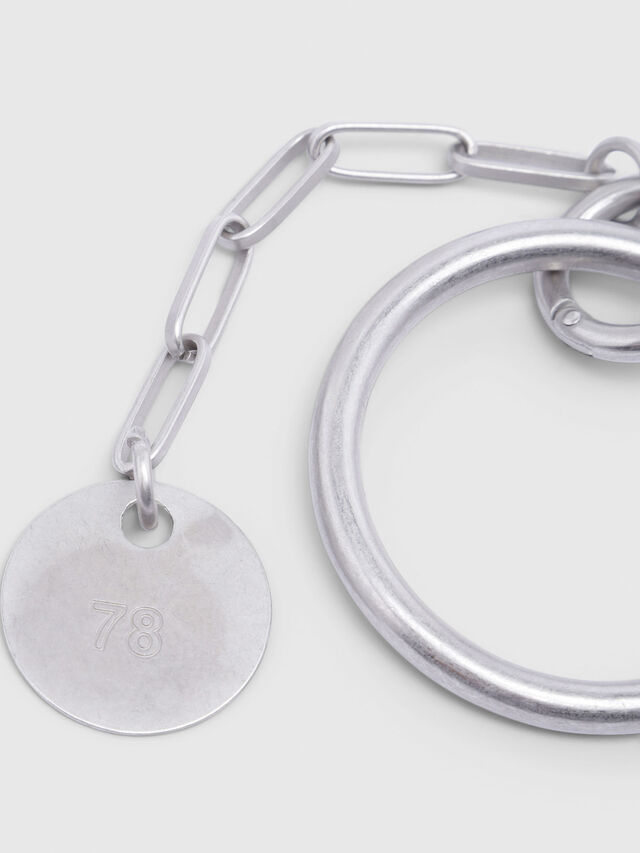 Diesel - A-BRUSOLO, Silver - Bijoux and Gadgets - Image 2