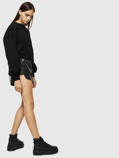 Diesel - F-MONDY, Black - Sweaters - Image 6