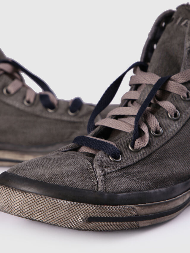 Diesel EXPOSURE I, Metal Grey - Sneakers - Image 6