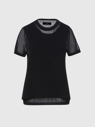 Diesel - M-ABBIE, Black - Knitwear - Image 1