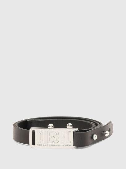 Diesel - B-SKUIT, Black - Belts - Image 1