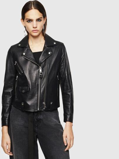 Diesel - L-LYFA,  - Leather jackets - Image 1