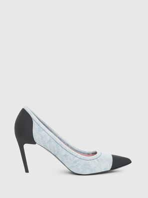 D-SLANTY MHT, Light Blue - Heels