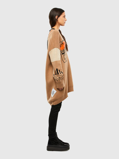 Diesel - M-ANNE, Light Brown - Knitwear - Image 3