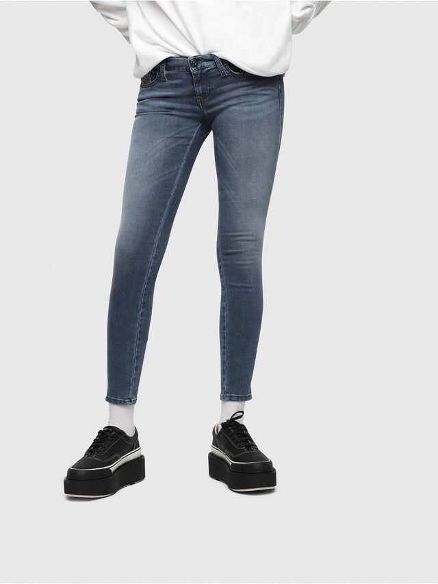 Diesel Skinzee Low 0681P, Medium blue - Jeans - Image 1