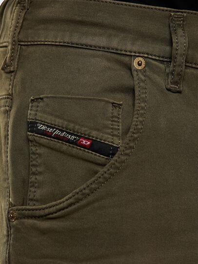 Diesel - Krooley JoggJeans 0670M, Dark Green - Jeans - Image 3