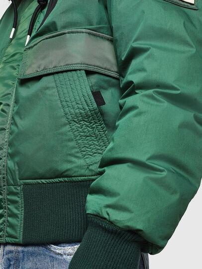 Diesel - W-BURKISK, Green - Winter Jackets - Image 6