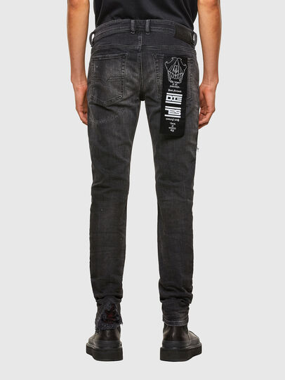 Diesel - Sleenker 009JN, Black/Dark grey - Jeans - Image 2