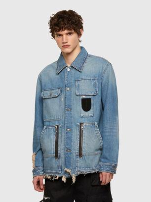 D-SERLE, Medium blue - Denim Jackets