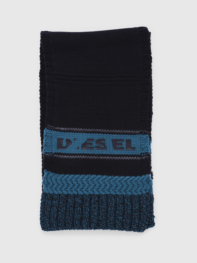Diesel - CADO-KIT, Black/Blue - Scarf - Image 4