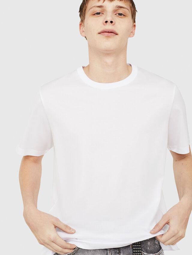 Diesel - T-YORI-Y1, White - T-Shirts - Image 4
