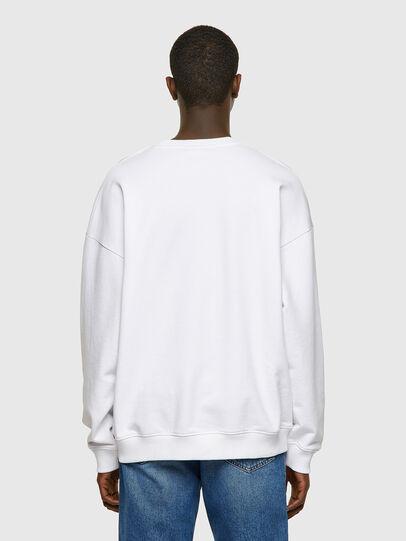 Diesel - S-MART-INLOGO, White - Sweaters - Image 2