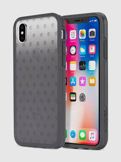 Diesel - MOHICAN HEAD DOTS BLACK IPHONE X CASE,  - Cases - Image 1