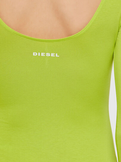 Diesel - UFBY-BODY-LS, Yellow Fluo - Bodysuits - Image 3