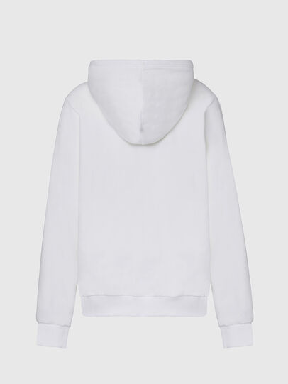 Diesel - F-ANG-HOOD-CUTY, White - Sweaters - Image 2