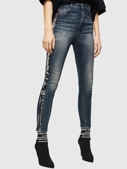 Diesel - Babhila High 069HN, Dark Blue - Jeans - Image 1