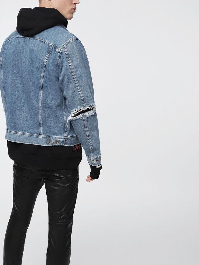 Diesel - D-ROBYN, Blue Jeans - Denim Jackets - Image 2