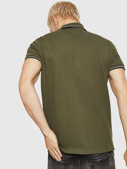 Diesel - T-RANDY-NEW, Military Green - Polos - Image 2