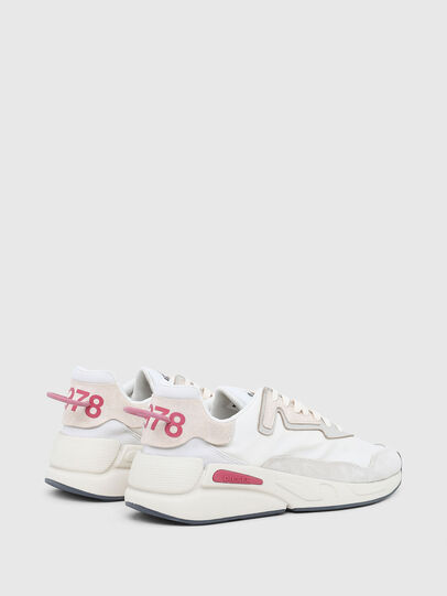 Diesel - S-SERENDIPITY LC W, White/Pink - Sneakers - Image 3