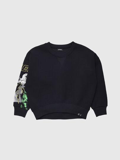 Diesel - SFEMS, Black - Sweaters - Image 1