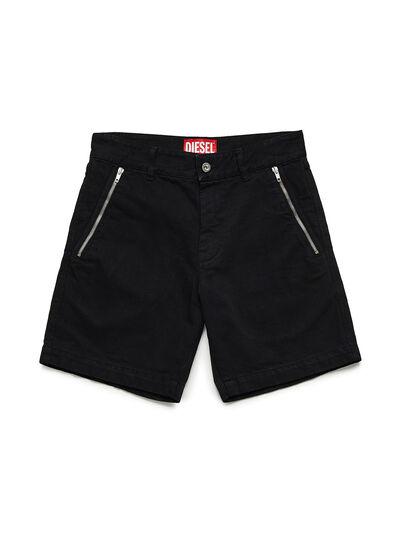 Diesel - GR02-P303, Black - Shorts - Image 1