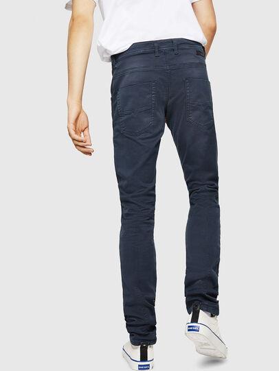 Diesel - Krooley Long JoggJeans 0670M, Dark Blue - Jeans - Image 2