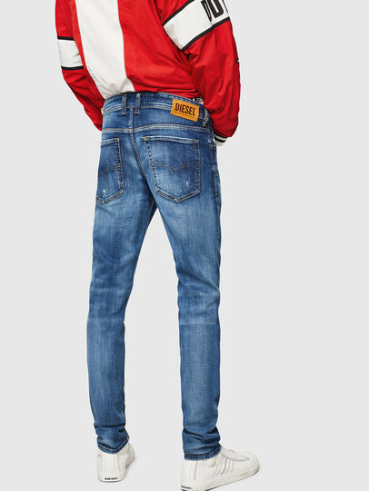 Diesel - Sleenker 069FY, Medium blue - Jeans - Image 2