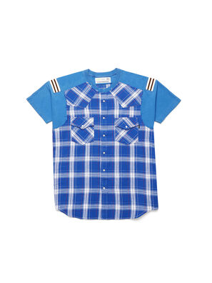 D-WESTERNSPORT, Light Blue - T-Shirts
