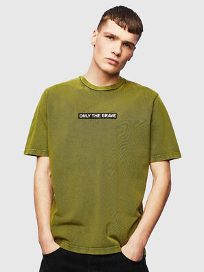 T-JUST-SLITS-T15, Yellow - T-Shirts