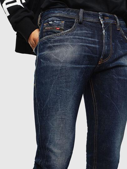 Diesel - Thommer 0097H, Dark Blue - Jeans - Image 3