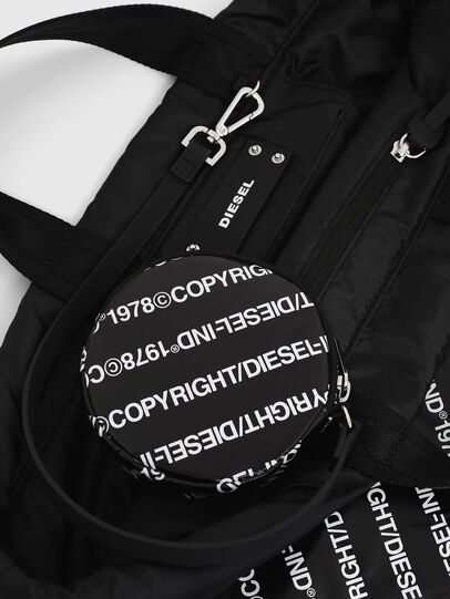 Diesel - COPYBACK, Black/White - Backpacks - Image 7