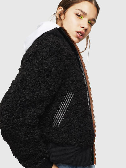 Diesel - L-TOSHA,  - Leather jackets - Image 3