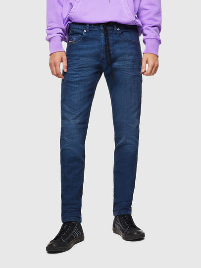 Diesel - Thommer JoggJeans 0098H, Medium blue - Jeans - Image 1