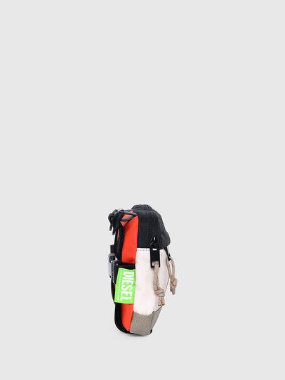 Diesel - DRESSLEK, White/Orange - Crossbody Bags - Image 3