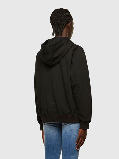 Diesel - F-ANG-HOOD-K22, Black - Sweaters - Image 2