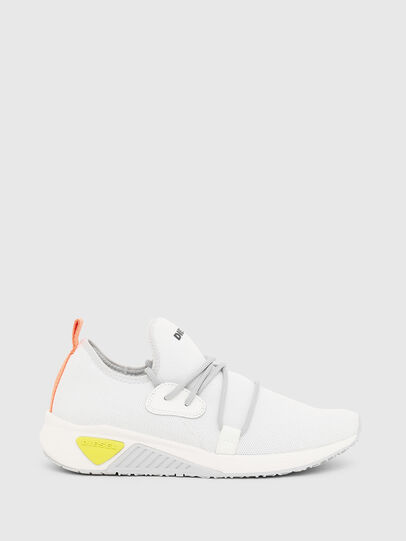 Diesel - S-KB SLE W, White - Sneakers - Image 1