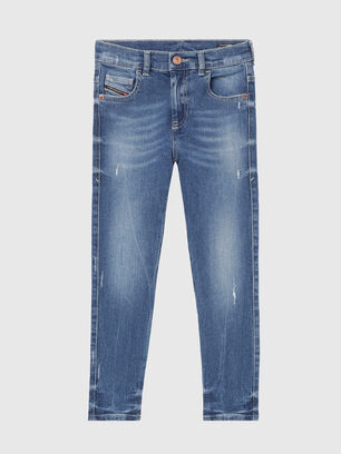 D-SLANDY-HIGH-J, Medium blue - Jeans