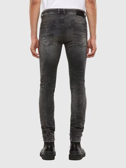 Diesel - Thommer JoggJeans 009KC, Black/Dark grey - Jeans - Image 2