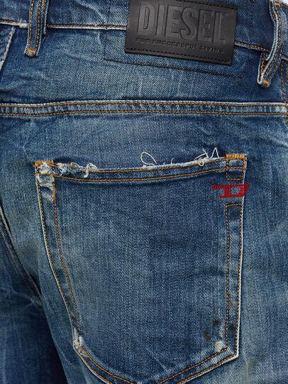 Diesel - D-Vider 009KG, Dark Blue - Jeans - Image 6
