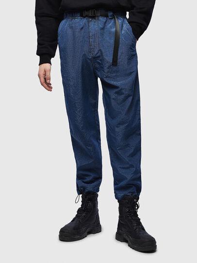 Diesel - P-BERG, Blue - Pants - Image 1