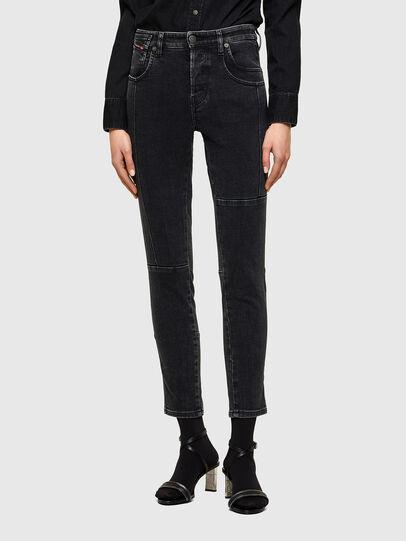 Diesel - Babhila 009UZ, Black/Dark grey - Jeans - Image 1