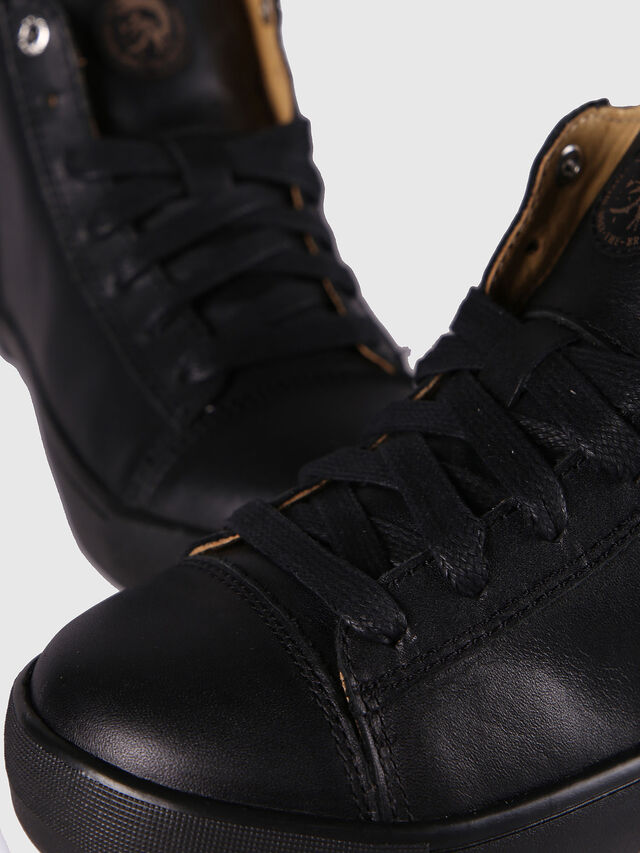 Diesel - SN MID 24 NETISH CH, Black - Footwear - Image 6