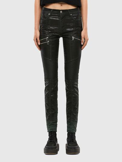 Diesel - D-Ollies JoggJeans 069QQ, Black/Dark grey - Jeans - Image 1