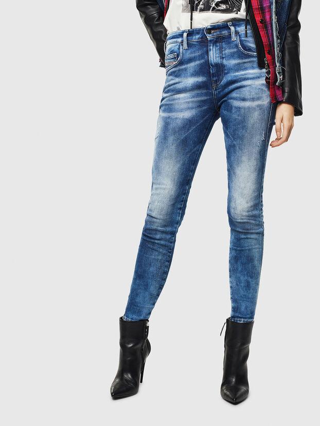 Slandy High 0096J, Medium blue - Jeans