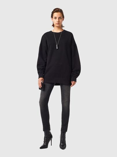 Diesel - F-GULLY-B1, Black - Sweaters - Image 4