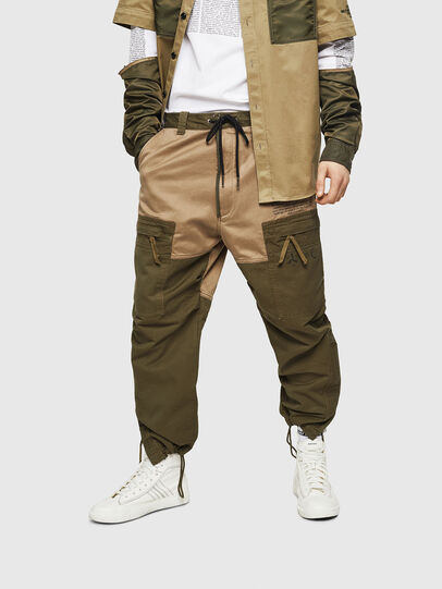 Diesel - P-LUKK, Military Green - Pants - Image 1